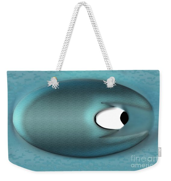 Eagerman Blue Weekender Tote Bag