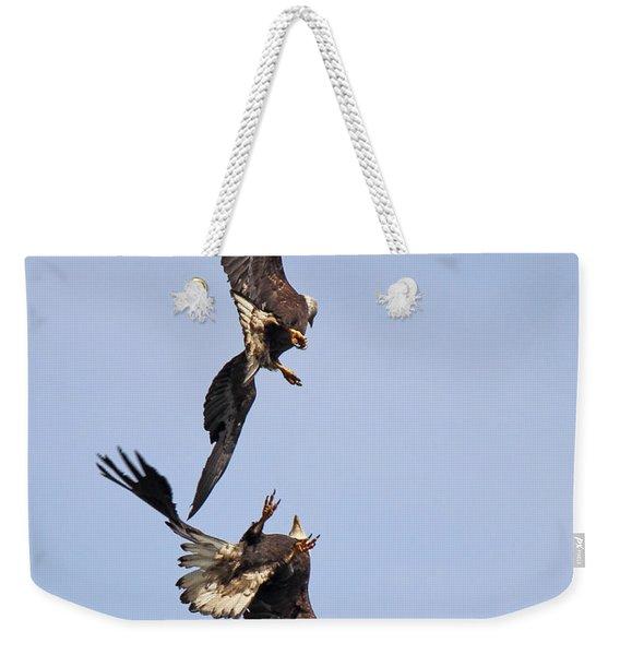 Eagle Ballet Weekender Tote Bag