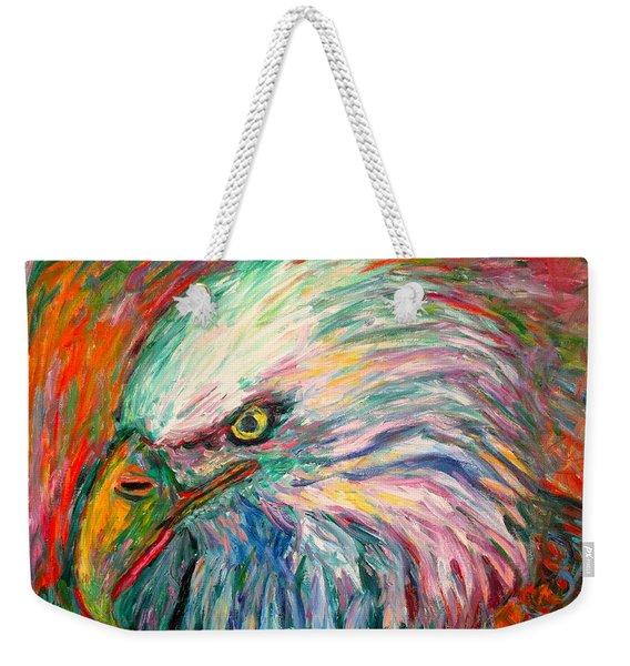 Eagle Fire Weekender Tote Bag