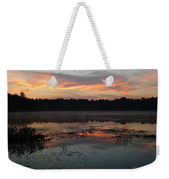 Eagle River Sunrise No.5 Weekender Tote Bag