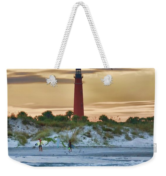 Early Evening Sky Weekender Tote Bag