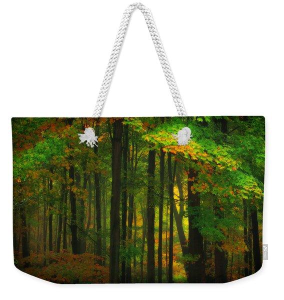 Early Fall 4 Weekender Tote Bag