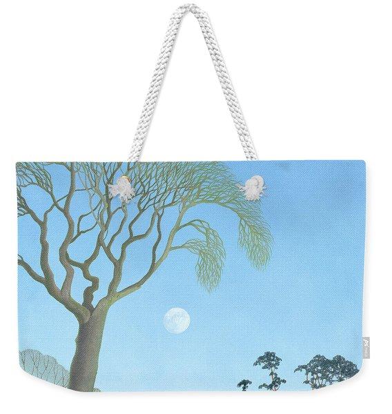 Early Moon, 2007 Oil On Canvas Weekender Tote Bag