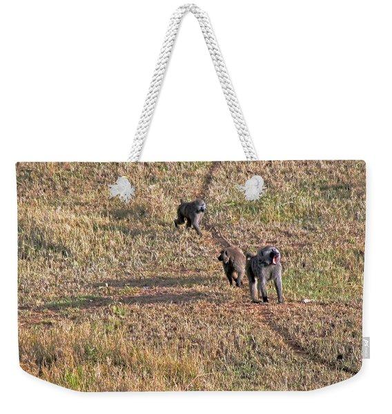 Early Morning Stroll Weekender Tote Bag