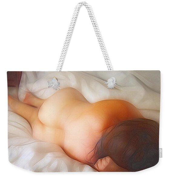 Early Morning Sunshine Weekender Tote Bag