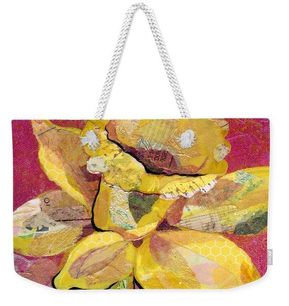 Early Spring IIi  Daffodil Series Weekender Tote Bag