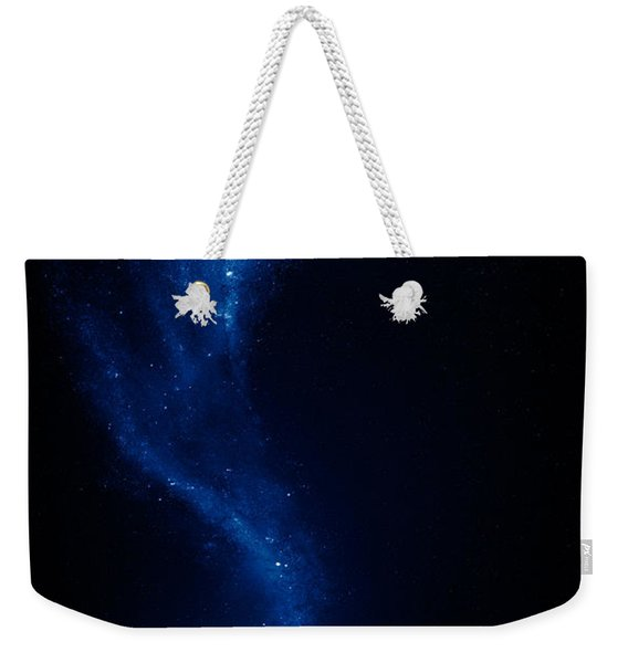 Earth And Moon Interconnected Weekender Tote Bag