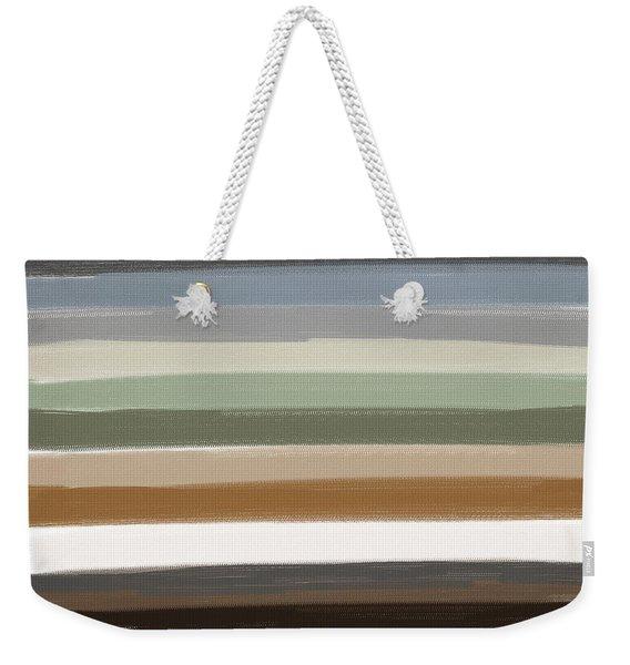 Earth Colors Weekender Tote Bag