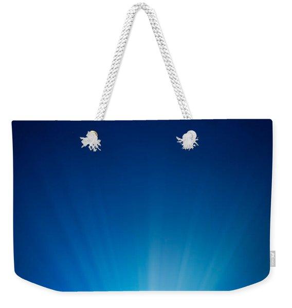 Earth Radiant Light Series - North America Weekender Tote Bag