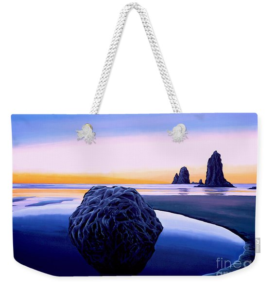 Earth Sunrise Weekender Tote Bag