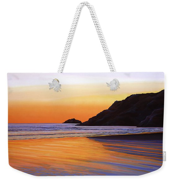 Earth Sunrise Sea Weekender Tote Bag