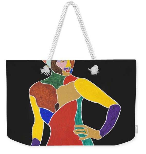 Eartha Kitt Weekender Tote Bag