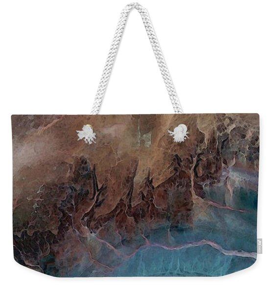 Earthship 1 Weekender Tote Bag
