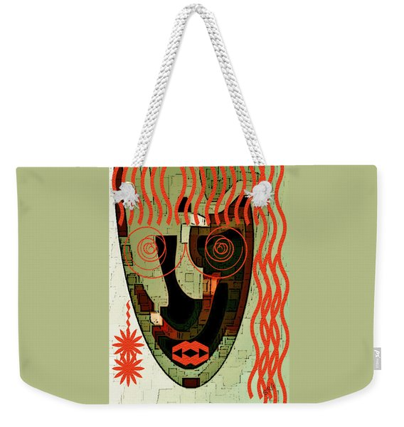 Earthy Woman Weekender Tote Bag