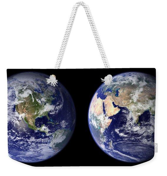 East And West Weekender Tote Bag