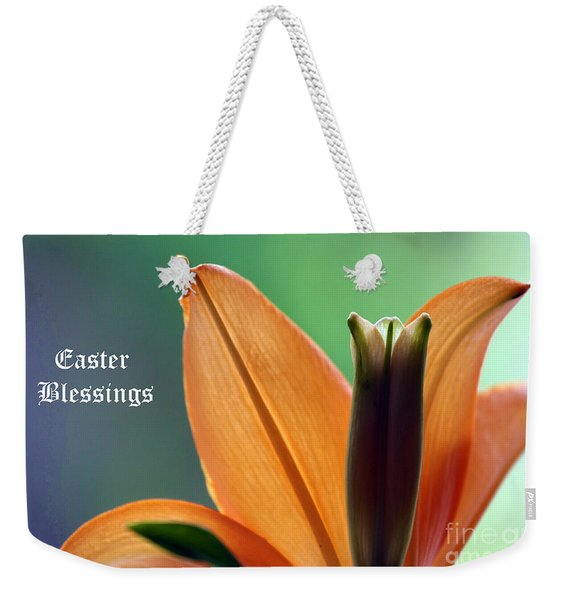 Easter Blessings Weekender Tote Bag