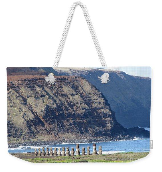 Easter Island Requiem Weekender Tote Bag
