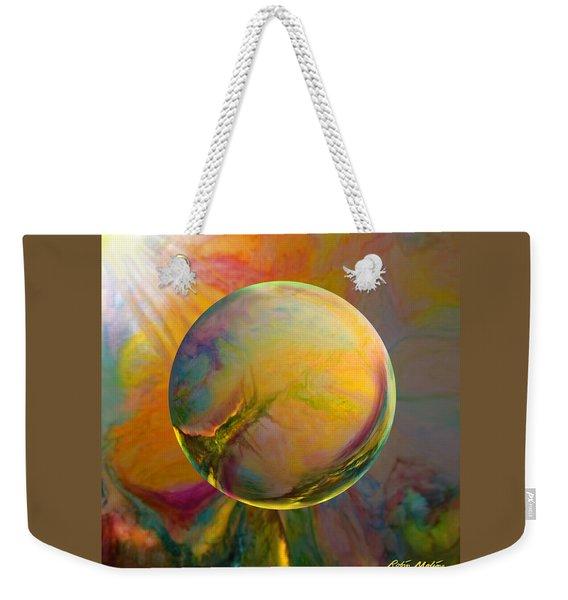 Easter Orb Weekender Tote Bag