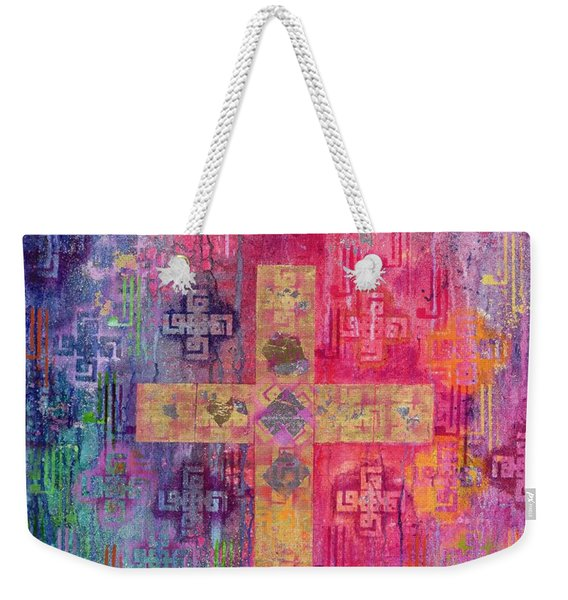 Eastern Cross Weekender Tote Bag