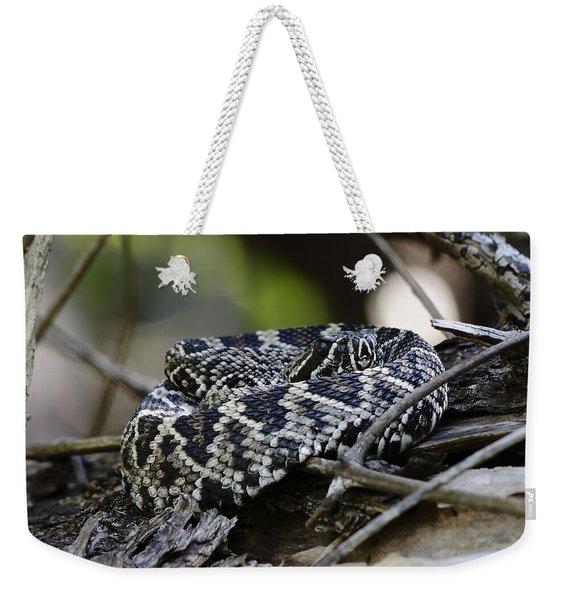 Eastern Diamondback-1 Weekender Tote Bag