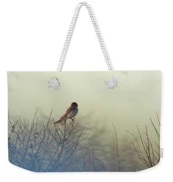 Eastern Phoebe Lacassine Pool  Lacassine Nwr Weekender Tote Bag