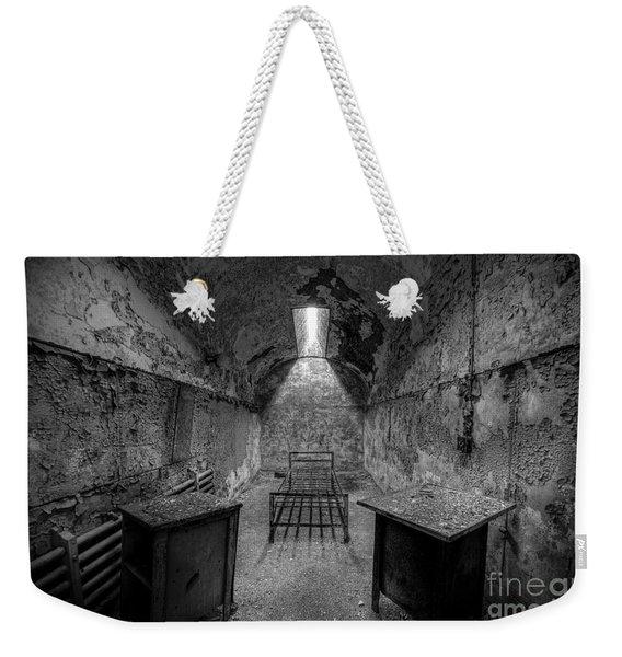 Eastern State Penitentiary Bw Weekender Tote Bag