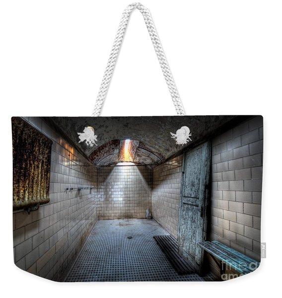 Eastern State Shower Facility Weekender Tote Bag
