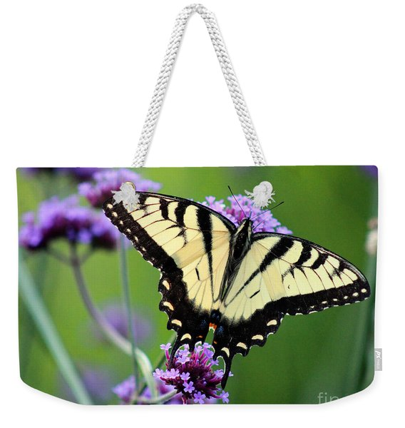 Eastern Tiger Swallowtail Butterfly 2014 Weekender Tote Bag