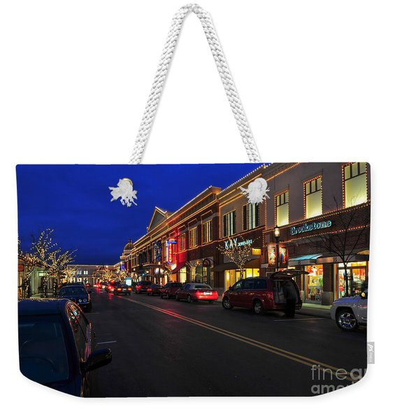 D65l-123 Easton Town Center Photo Weekender Tote Bag