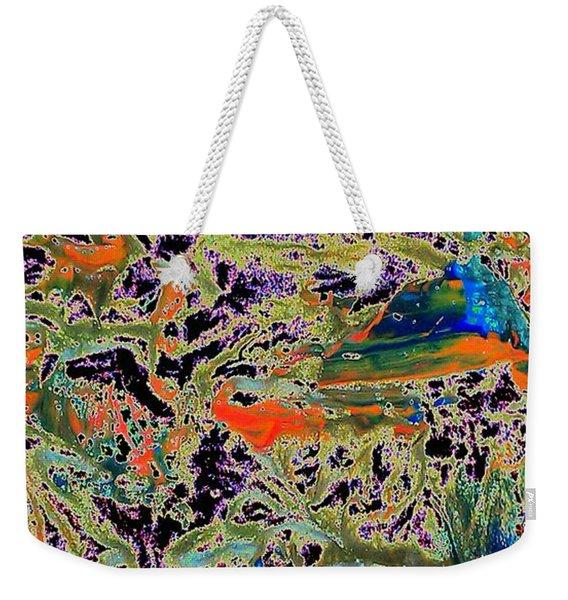 Ebb And Flow Weekender Tote Bag