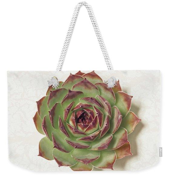 Echeveria Succulent Weekender Tote Bag