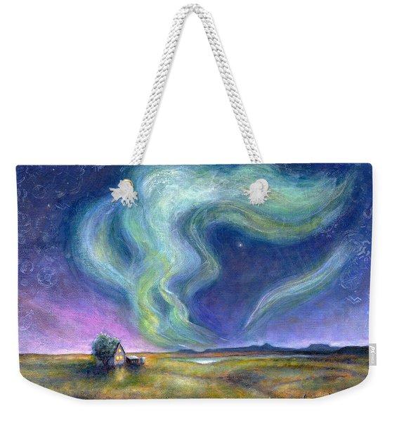 Echoes In The Sky Weekender Tote Bag