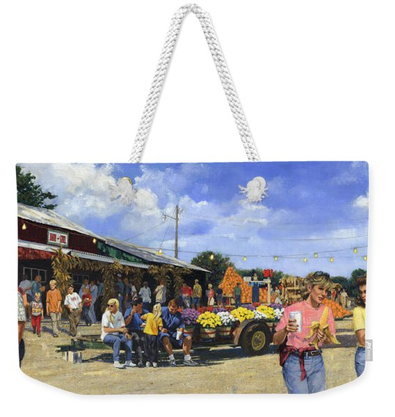 Eckerts Market Belleville Grandsons  Weekender Tote Bag