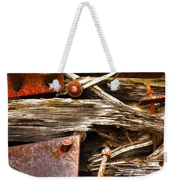 Eckley Faces Weekender Tote Bag