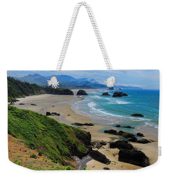 Ecola State Park Beach Weekender Tote Bag