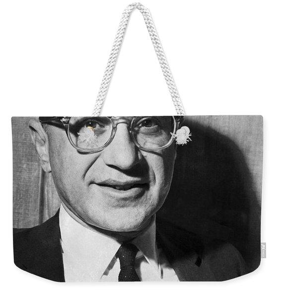 Economist Milton Friedman Weekender Tote Bag