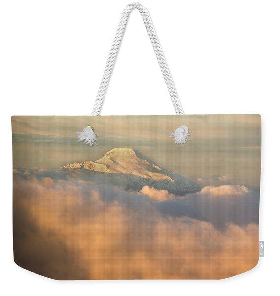 Ecuadors Third Largest Volcano, Cayambe Weekender Tote Bag