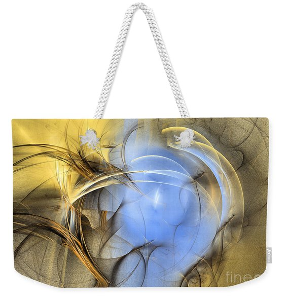 Eden - Abstract Art Weekender Tote Bag