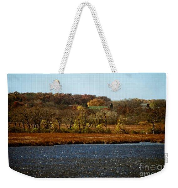 Edge Of The Marsh Weekender Tote Bag