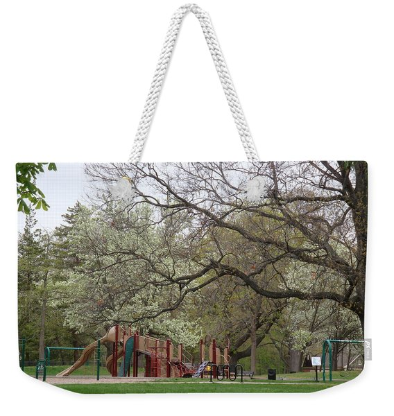 Edgewood Park New Haven Connecticut Weekender Tote Bag