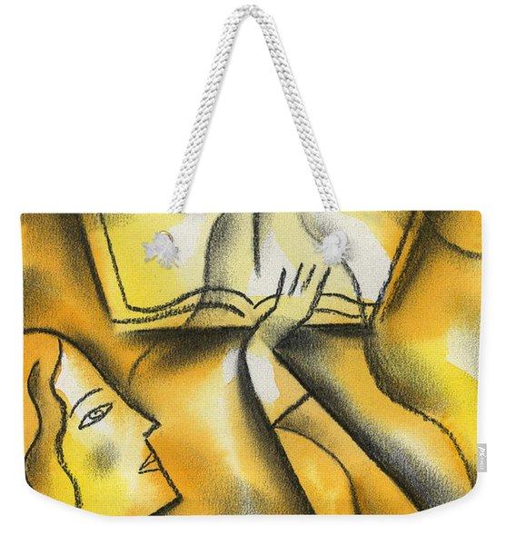 Education Weekender Tote Bag