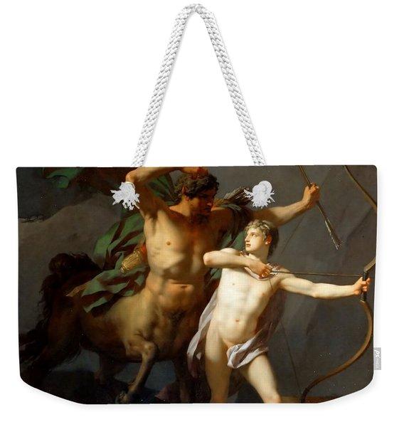 Education Of Achilles Weekender Tote Bag