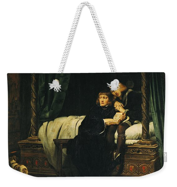 Edward V 1470-83 And Richard, Duke Of York In The Tower Les Enfants Dedouard 1830 Oil On Canvas See Weekender Tote Bag