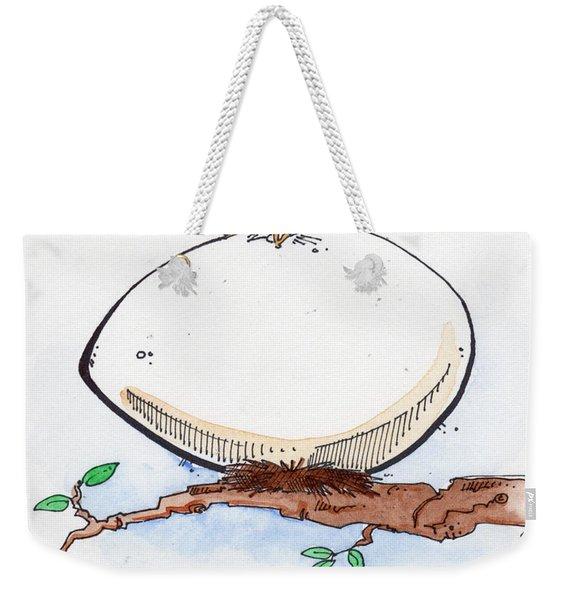 Eggbert Weekender Tote Bag
