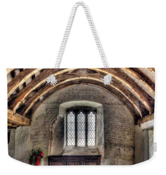 Eglwys Celynnin Sant Weekender Tote Bag