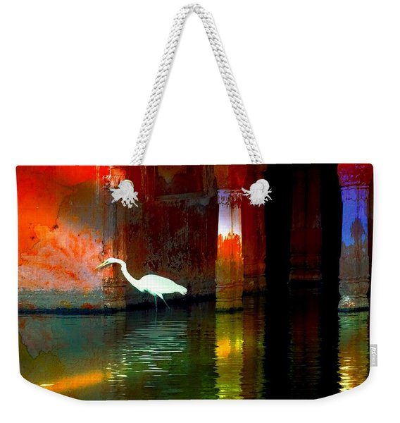 Egrets Have A Palace For Nesting Weekender Tote Bag