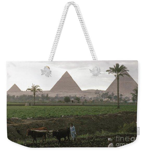 Egypt: Farming, C1970 Weekender Tote Bag