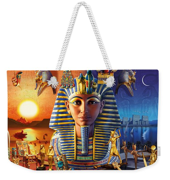 Egyptian Triptych 2 Weekender Tote Bag