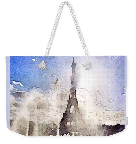 Eiffel During Summer Weekender Tote Bag