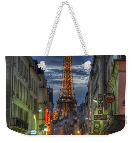 Eiffel Over Paris Weekender Tote Bag